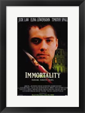 Framed Immortality Print