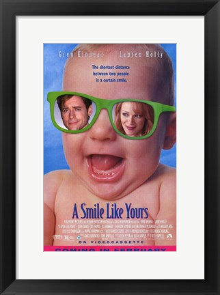 Framed Smile Like Yours Print