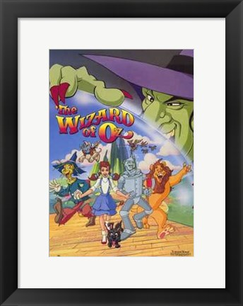 Framed Wizard of Oz (Animated) Print
