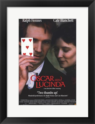 Framed Oscar and Lucinda Print