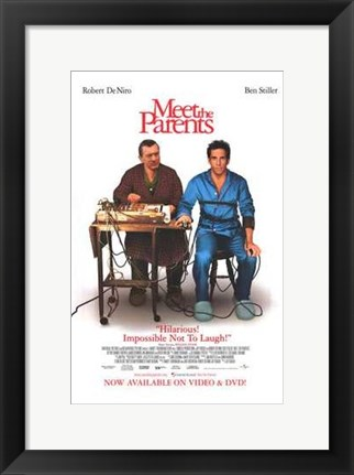 Framed Meet the Parents Print