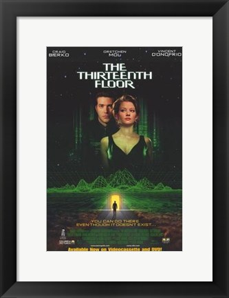 Framed Thirteenth Floor Print