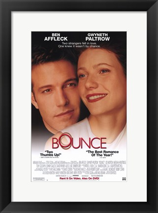 Framed Bounce Movie Print
