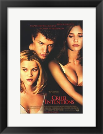 Framed Cruel Intentions Print
