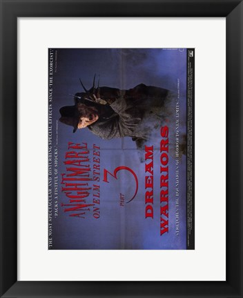Framed Nightmare on Elm Street 3: Dream Warrior Film Print