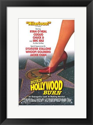 Framed Alan Smithee Film: Burn  Hollywood  B Print