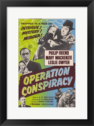 Framed Operation Conspiracy Print