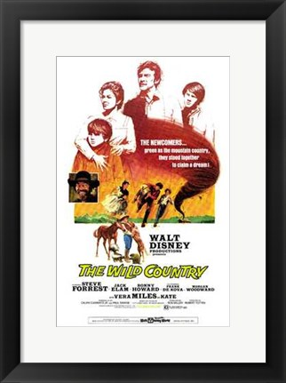 Framed Wild Country Print