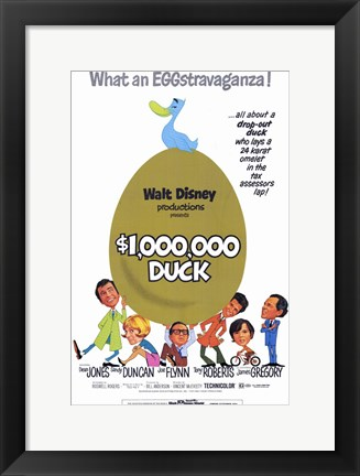 Framed Million Dollar Duck Print