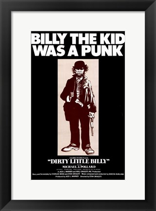 Framed Dirty Little Billy Print