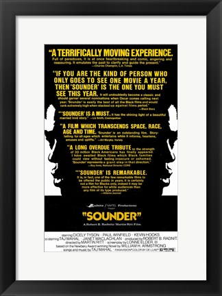 Framed Sounder Movie Print