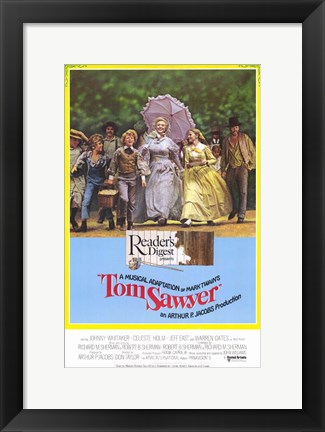 Framed Tom Sawyer Print