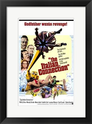 Framed Italian Connection Print