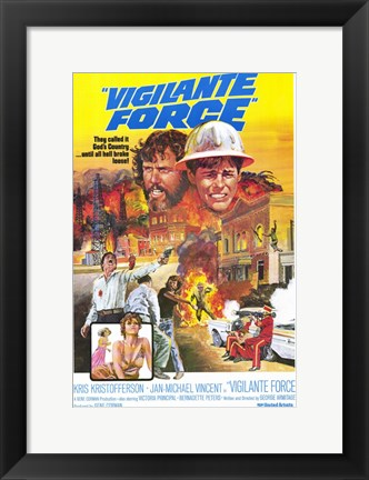 Framed Vigilante Force Print