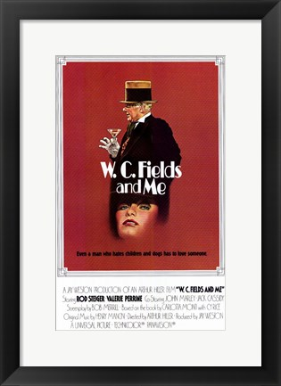 Framed W C Fields and Me Print