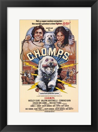 Framed Chomps Print