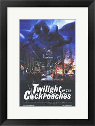Framed Twilight of the Cockroaches Print
