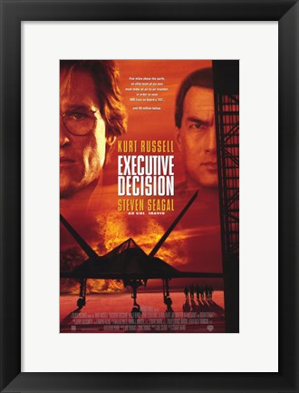 Framed Executive Decision Print