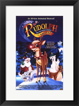 Framed Rudolph: the Movie Print