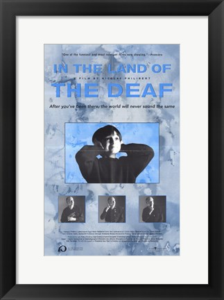 Framed in the Land of the Deaf Print