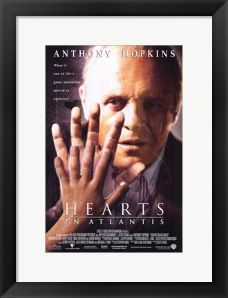 Framed Hearts in Atlantis Print