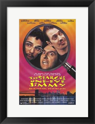 Framed Search for One Eyed Jimmy Print