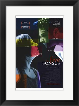 Framed Five Senses Print