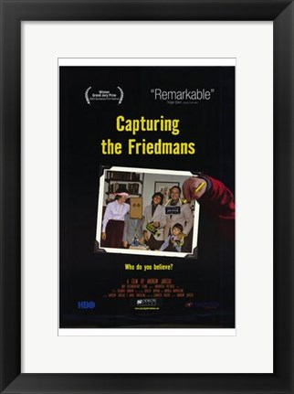 Framed Capturing the Friedmans Print