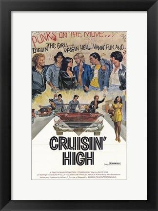 Framed Cruisin' High Print