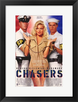Framed Chasers Print