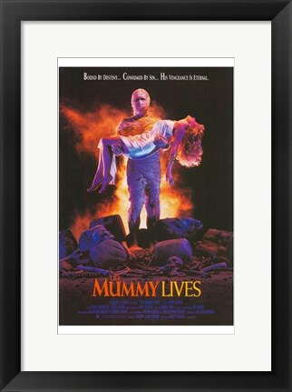 Framed Mummy Lives Print