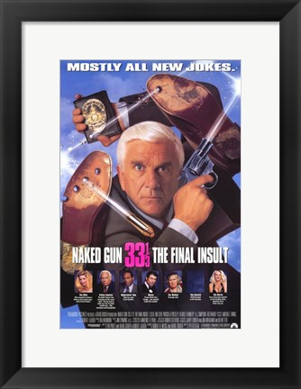 Framed Naked Gun 33 1-3: the Final Insult Print