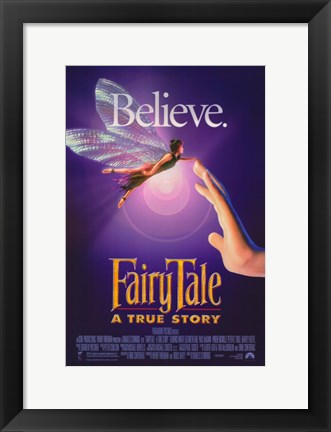 Framed Fairy Tale: a True Story Print