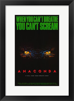 Framed Anaconda Print