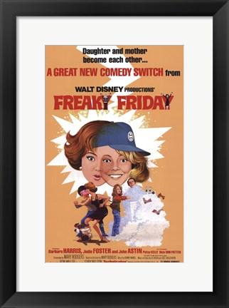 Framed Freaky Friday Print
