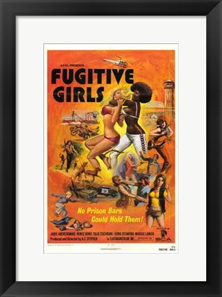 Framed Fugitive Girls Print
