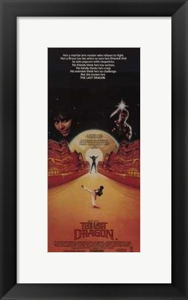Framed Last Dragon Print