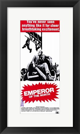Framed Emperor of the North Pole Breathtaking Excitement Print