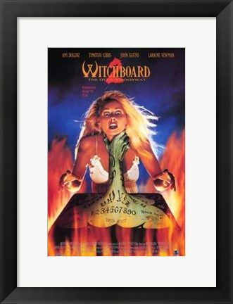 Framed Witchboard 2 Print