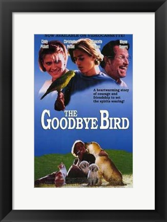 Framed Goodbye Bird Print