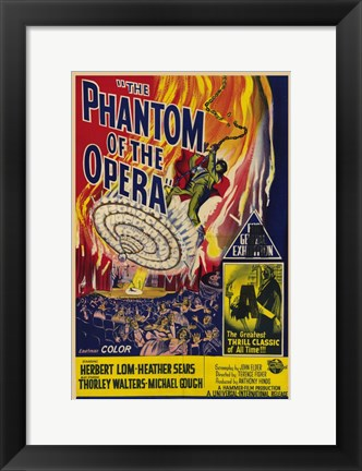 Framed Phantom of the Opera, c.1962 - style A Print