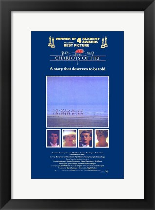Framed Chariots of Fire Print