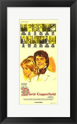 Framed David Copperfield Print