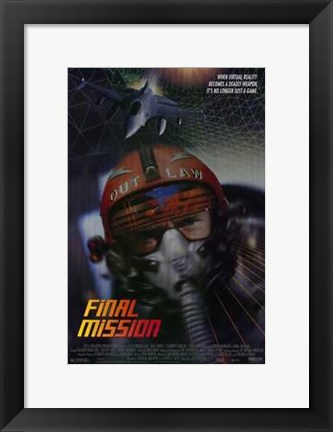 Framed Final Mission Print