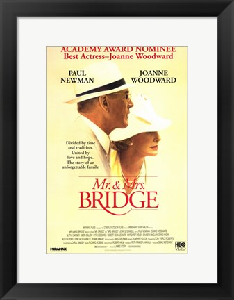Framed Mr Mrs Bridge Print