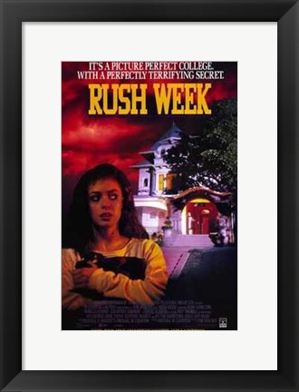 Framed Rush Week Print