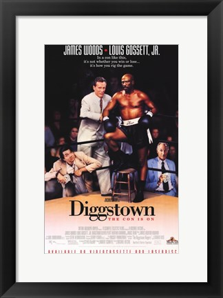 Framed Diggstown Print