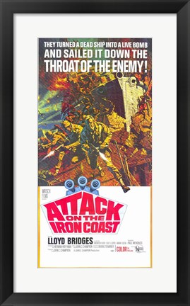 Framed Attack on the Iron Coast Print