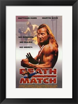 Framed Death Match Print
