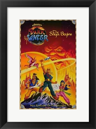Framed Pirates of Dark Water Print